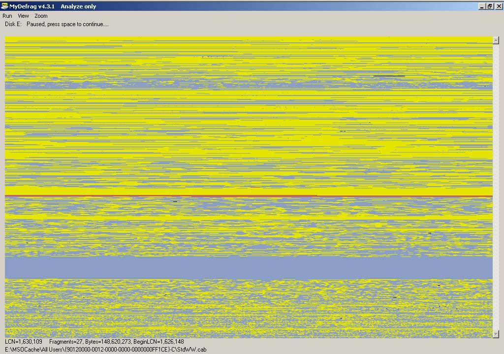 22 - P3 WinXP - Defrag - Before.jpg